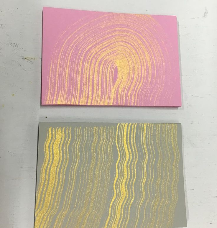 Golden cards by Jenni Rope