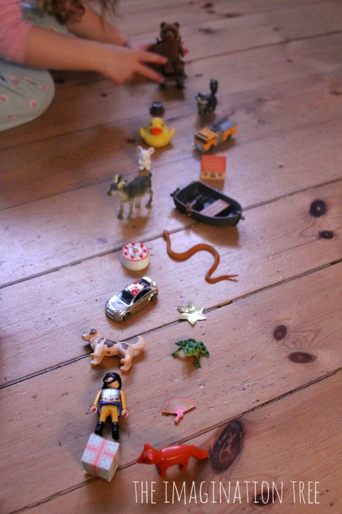 Rhyming Pairs Basket Literacy Game - The Imagination Tree @Anna Totten @ The Imagination Tree