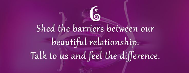 Shed the barriers between our beautiful relationship. Talk to us at 0124 614 3600 and feel the difference!