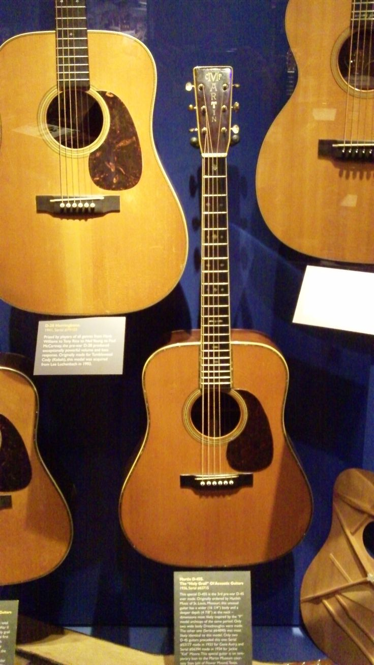 A pre-war Martin D-45, the Holy Grail of acoustic guitars.