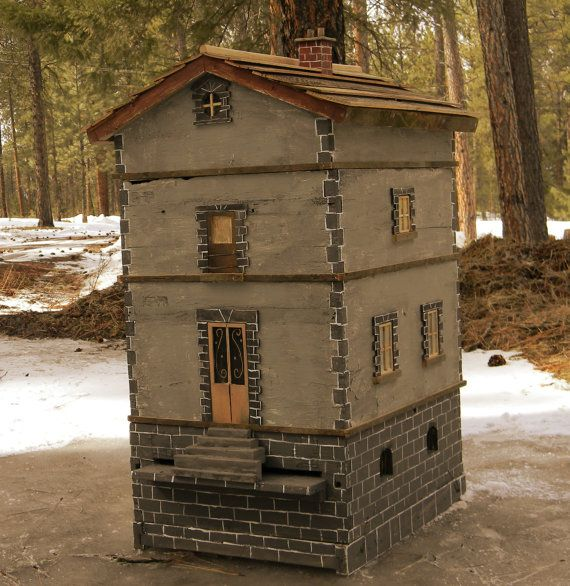 Old Country Beehive Beekeeping by dabeeman on Etsy, $850.00