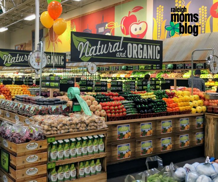 See What's In Store at Your Neighborhood Sprouts + Giveaway Alert http://raleigh.citymomsblog.com/food-drink/sprouts-farmers-market-giveaway-alert/ Sprouts Farmers Market has opened in Raleigh, NC and is giving families a shopping experience to make healthy living easy & affordable.