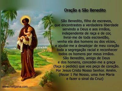 Benedito era um Santo, Que na Casa do Senhor o amor conheceu, Era mulato, era forte, A pobreza foi lema, Numa vida de luz ele só entendeu,