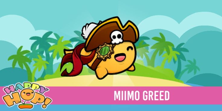 Miimo Greed from #HappyHop! @PlatonicGames https://itunes.apple.com/app/id1087482860 | platonicgames.com