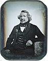 Louis Daguerre, one of the fathers of photography, and inventor of the daguerreotype. 1787-1851