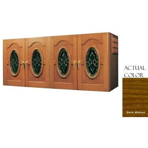 Vinotemp Vino-400crednap-dkwa 304 Bottle Napoleon Four Door Wine Cellar Credenza - Glass Doors / Dark Walnut Cabinet by Vinotemp. $6269.00. Vinotemp VINO-400CREDNAP-DKWA 304 Bottle Napoleon Four Door Wine Cellar Credenza - Glass Doors / Dark Walnut Cabinet. VINO-400CREDNAP-DKWA. Wine Cellars. This wine credenza by Vinotemp features four elegant doors with oval glass panes. The wine mate self contained cooling system ensures proper circulation while your wine is stored saf...