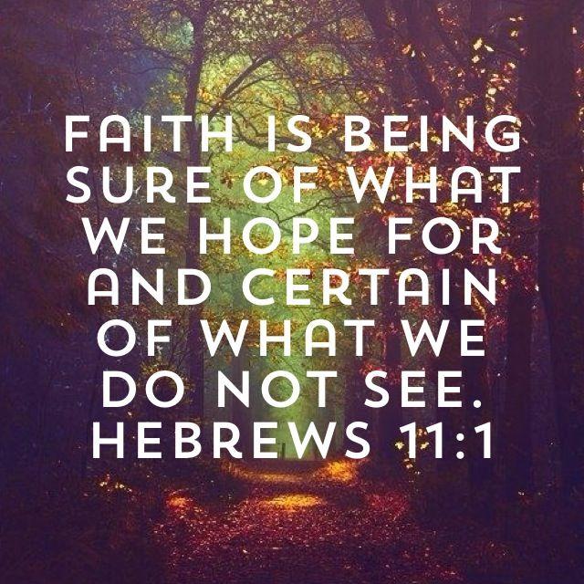 Bible Verses On Faith, Trust And Hope KJV