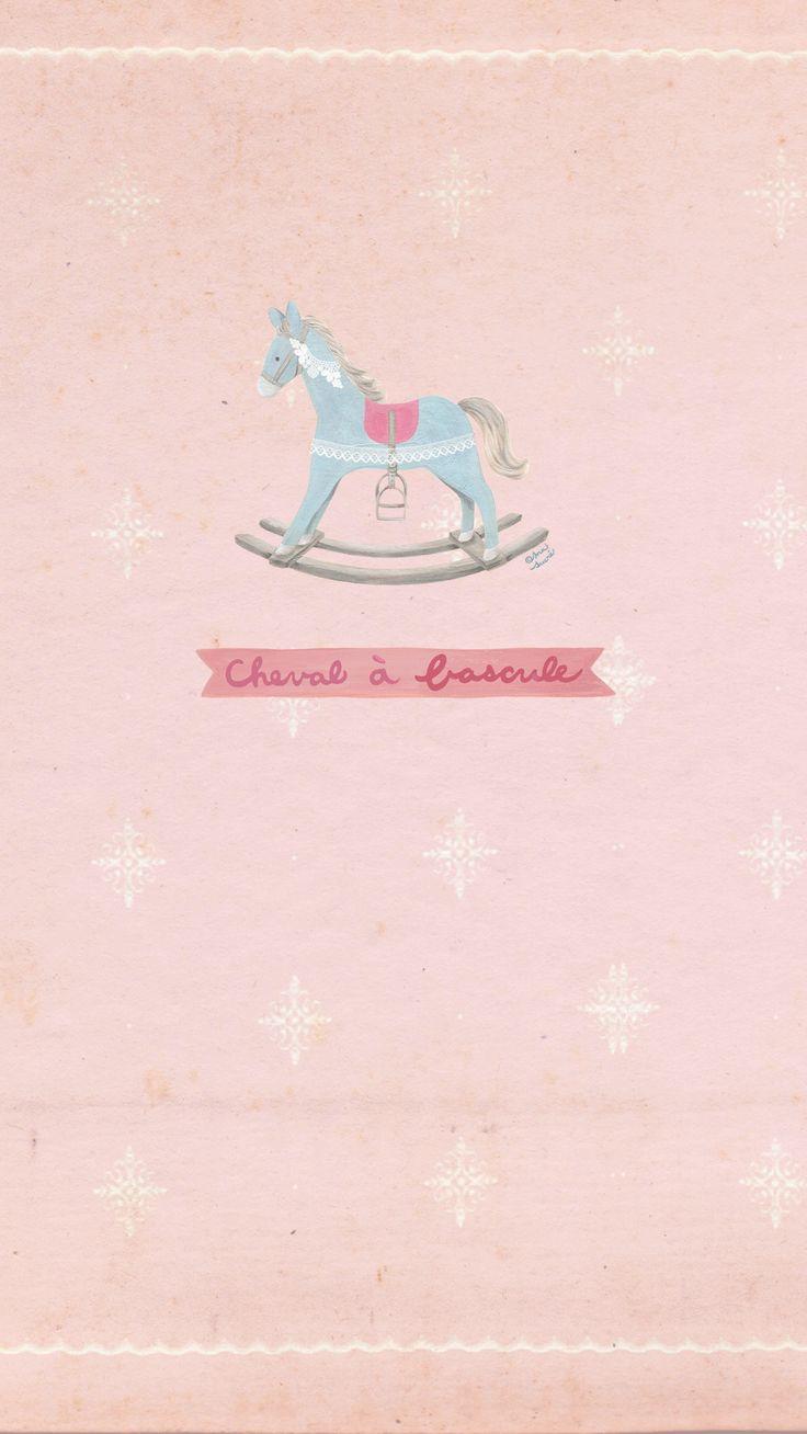 'Rocking horse' GIF background free downloading at Cogul App.  감성 IT 중심지 코글☆