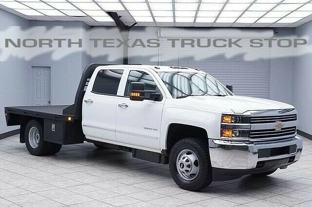 2016 Chevrolet Silverado 3500 Work Truck Diesel 4x4 W T Flat Bed