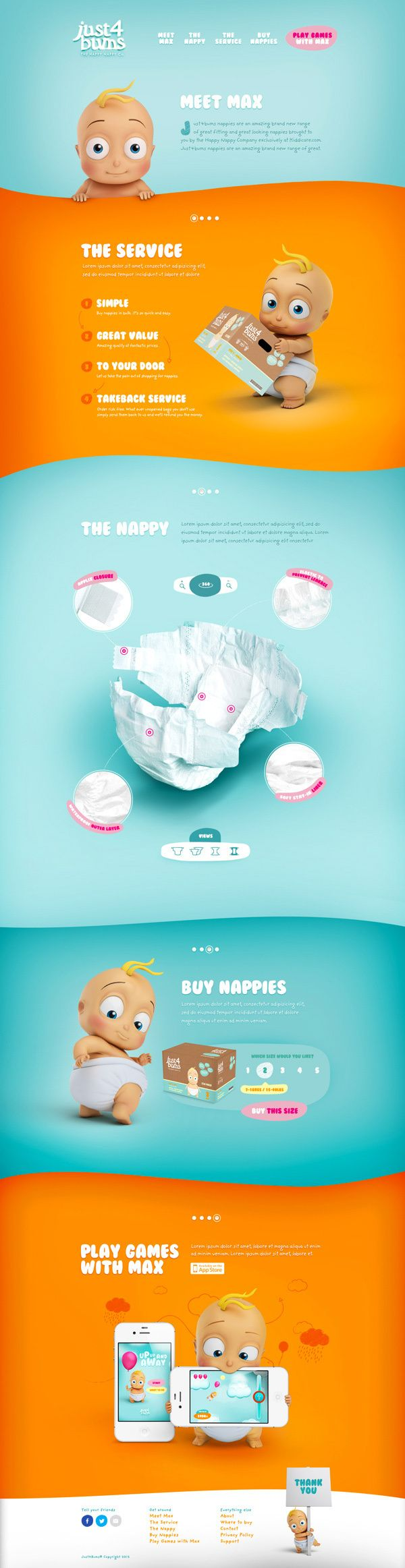 Just4Bums on Behance