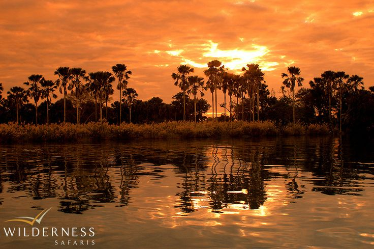 Sunset on the Shire River - magnificent Malawi! #safari #Africa