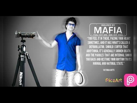 Picsart Online Mafia step by step