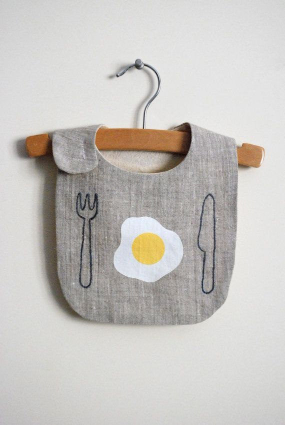 good morning bib van yorikoNewYork op Etsy