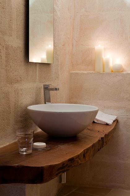 Modern Sink | Natural Wood
