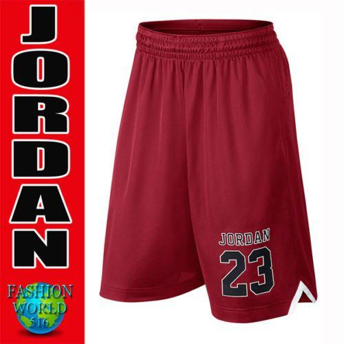 Nuevo-Para-Hombre-Nike-Air-Jordan-Jumpman-Pantalones-Cortos-838984-687-Tamano-pequeno-Rojo-Negro