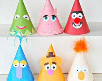 Muppet Party Hats