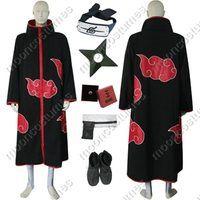Making Akatsuki cloaks takes some sewing skill.