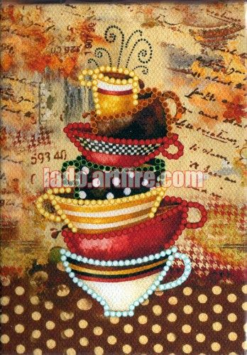 This kit is excellent for beginners, who are not familiar with bead embroidery and want to try this amazing art.  Bead embroidery is easy to make. This is relaxing and very aesthetic hobby. You...@ artfire