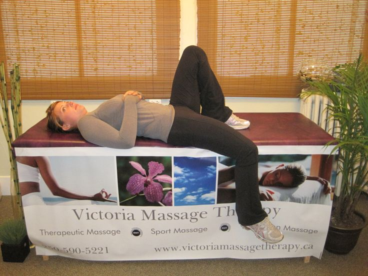 An easy Psoas stretch that can be done even if it's tight and painful.