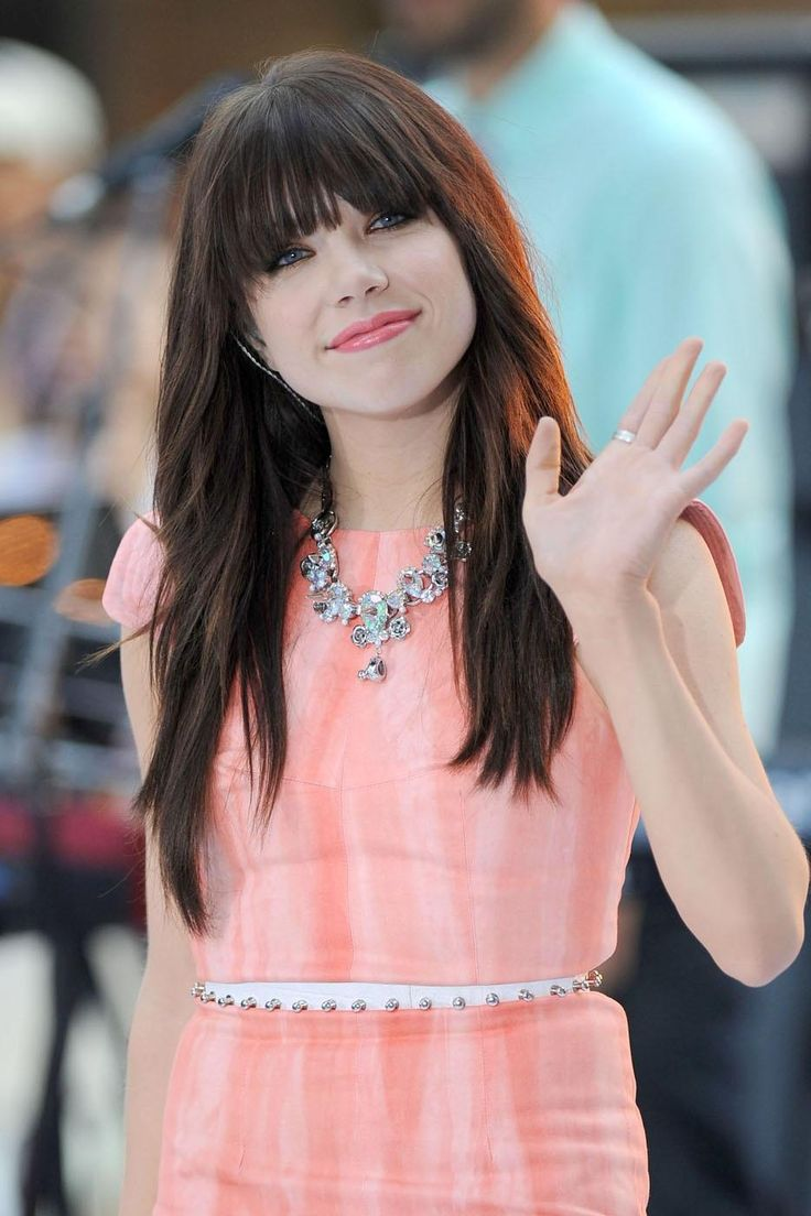 Great hair! Carly Rae Jepsen Today Show