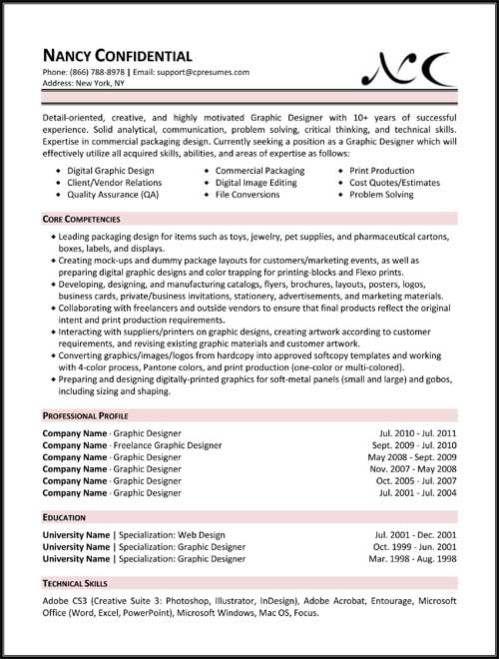 changing career resume samples