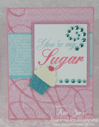 Paper Punch Addiction: Inspired by Stamping Sneak Peek: Inspiration, Stamps Sneak, Valentine Day Cards, Stamps Sets, Features Stampin, Cards Baskets, Parties Stamps, Teas Parties, Valentines Day Cards