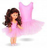 LALKA TESS W STOJU BALETOWYM I STRÓJ BALETOWY DLA DZIEWCZYNKI - Buy4Kids - sukienki dla dziewczynek i dla lalek
