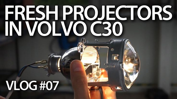 #Volvo #C30 new halogen projector lenses #cars #maintenance