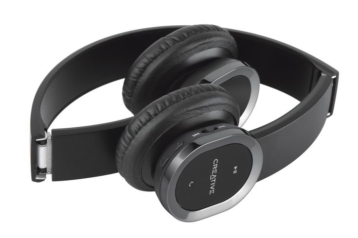 Amazon.com: Creative WP-450 Wireless Bluetooth Headphone with Invisible Mic: Electronics