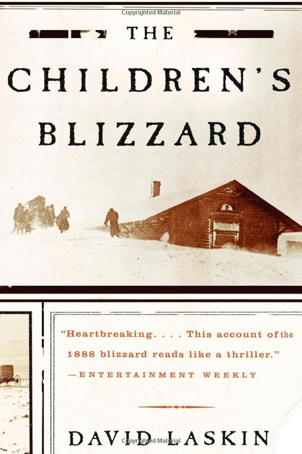 The Children's Blizzard by David Laskin......this looks like one to consider for future reading.