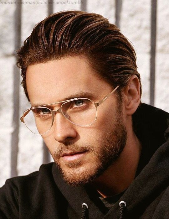 Jared Leto Glasses Ad...I have no idea what brand this is. Lol.