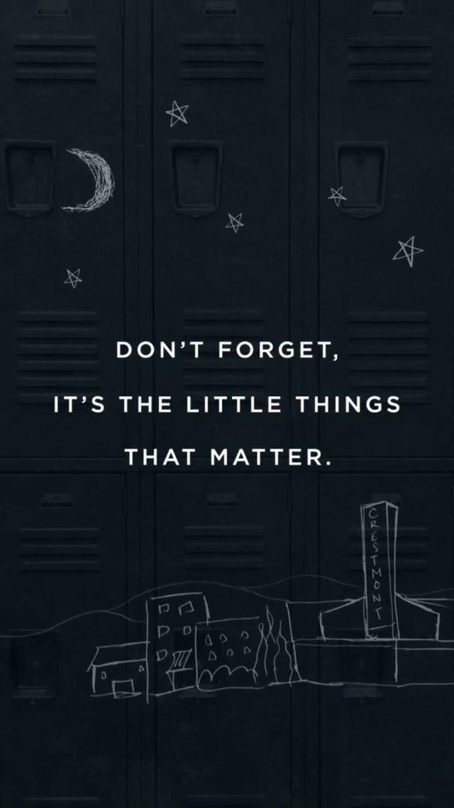 Não esqueça É a pequena coisa que importa