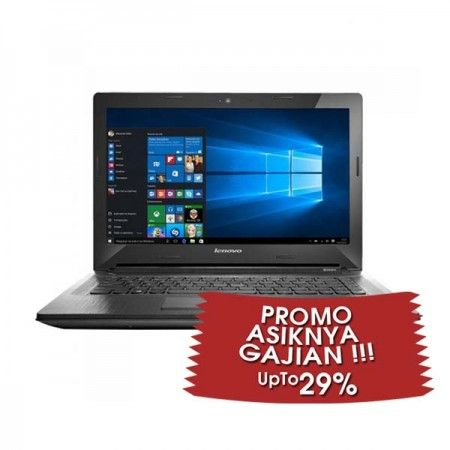 "LENOVO IdeaPad 300-14-N3150 Black - Promo Asyiknya Gajian  Write a review New Arrival !!! Intel QuadCore N3160-1.6Ghz Turbo 2.48Ghz, RAM 2GB, HDD 8GB + 500GB, VGA Intel HD Graphics, Screen 14"", Dos  See More Product At http://kliknklik.com/ or http://kliknklik.com/1090-promo-asiknya-gajian/ and http://kliknklik.com/blogs/harga-notebook-terupdate/"
