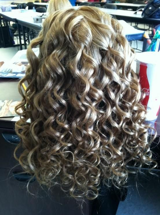PERFECT: tightness, hold, texture, thickness | Spiral perm
