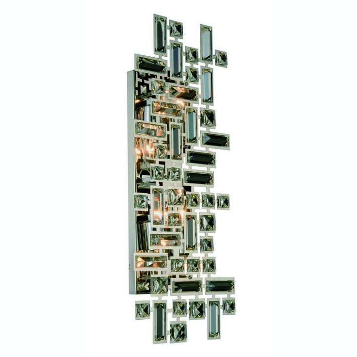 "Picasso Collection Wall Sconce W:22"" H:9"" E:3.5"" Lt:4 Chrome Finish Royal Cut Clear. Picasso Collection Wall Sconce W:22"" H:9"" E:3.5"" Lt:4 Chrome Finish Royal Cut Clear  Watts: Lumens: Lamp Type: Shape: Style:Contemporary Light Bulbs:4 Bulb Type:E12 Bulb Wattage:40 Max Wattage:160 Voltage:110V-125V Finish:Chrome Crystal Trim:Royal Cut Crystal Color:Clear Hanging Weight:4.7000000000000002"