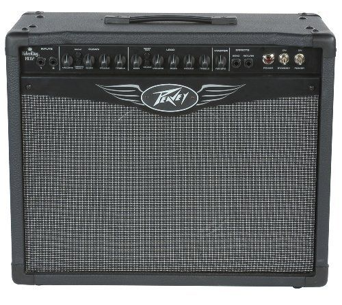 """Peavey ValveKing 112 Combo Amplifier by Peavey. $399.99. Peavey ValveKing® amps feature a patented, variable Class A-A/B control called Texture™, which allows sweepable selection between Class A and Class A/B power structures, as well as any combination of the two. With this feature, guitarists can coax virtually any tone from this tweaked-out amplifier. The amp's preamp and power sections use 12AX7 and 6L6GC tubes, respectively, and drive specially voiced 12"""" ValveKin..."""