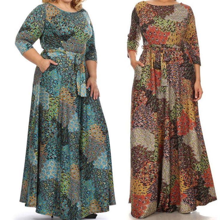 X large maxi dresses 3x