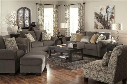 Emelen contemporary alloy fabric living room set for Living room june jordan