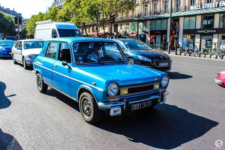 #Simca #1100 #Ti à la Traversée de #Paris en #Voitures #Anciennes #TdP2015 Article original : http://newsdanciennes.com/2015/08/03/grand-format-news-danciennes-a-la-traversee-de-paris-2/ #Cars #Vintage