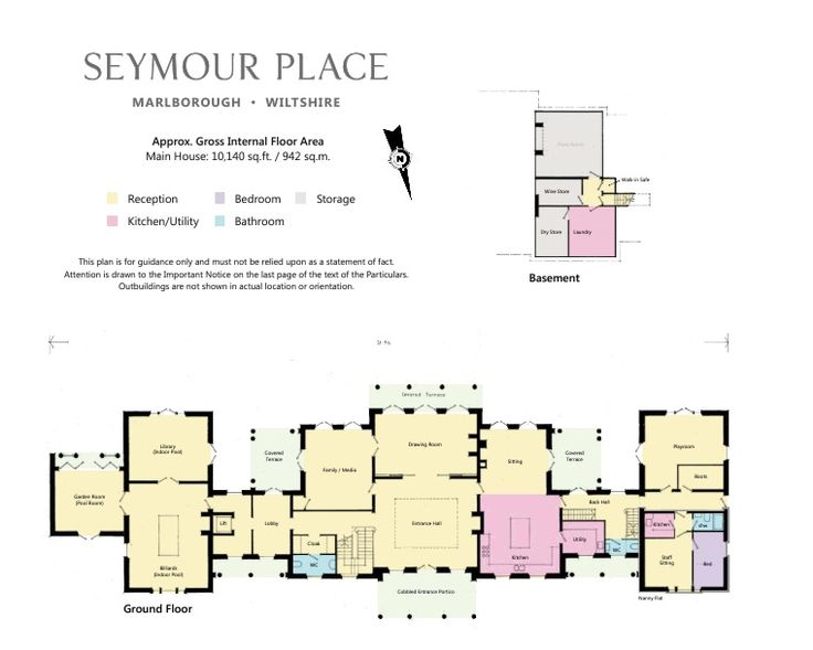 Ground floor seymour place marlborough for Marlborough house floor plan