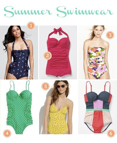 Our favorite Summer Swimwear: