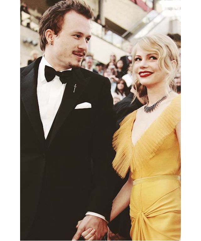 The 32 coolest celeb couples of all time: Heath Ledger and Michelle Williams