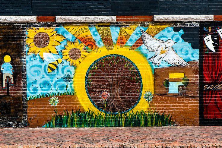 mural Pittsburg Kansas