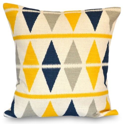 $27 Find it at the Foundary - 18 in. Ikat Nina/Brich Pillow
