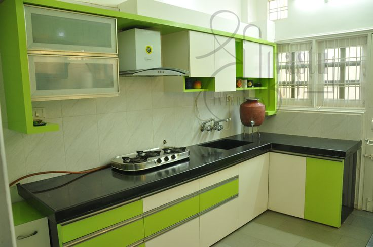 Indian Kitchen that suits requirements of every female designed by #ShriVastuKrit #Vastu #InteriorDesigning #Kitchen #Interiors