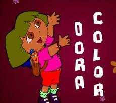 Un nouveau coloriage de #dora pour les #enfants