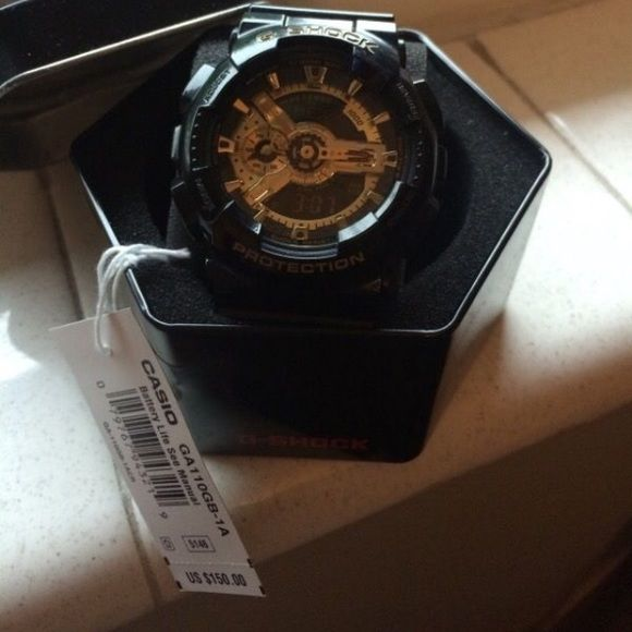 Gold g shock Gold g shock bought from Macy's G-Shock Accessories Watches
