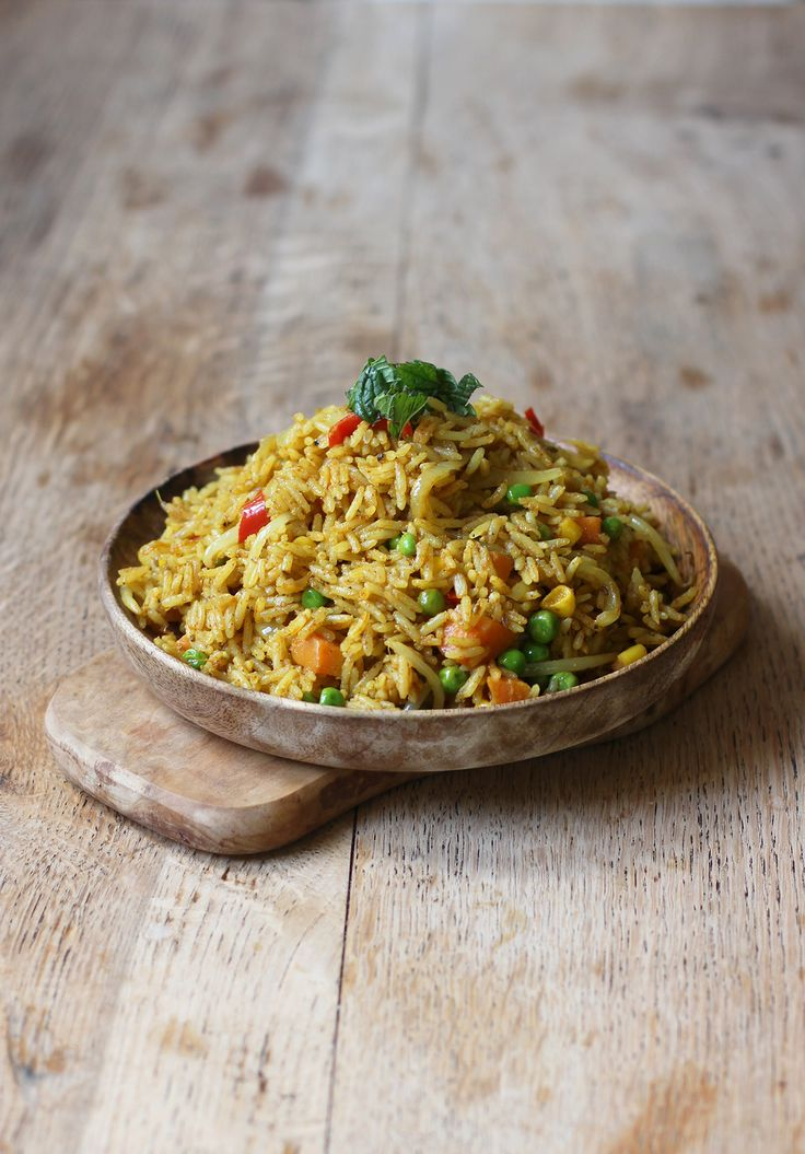 One of my favourite dishes to make! Hot & tasty curried coconut rice with so many delicious flavours! Vegan + GF