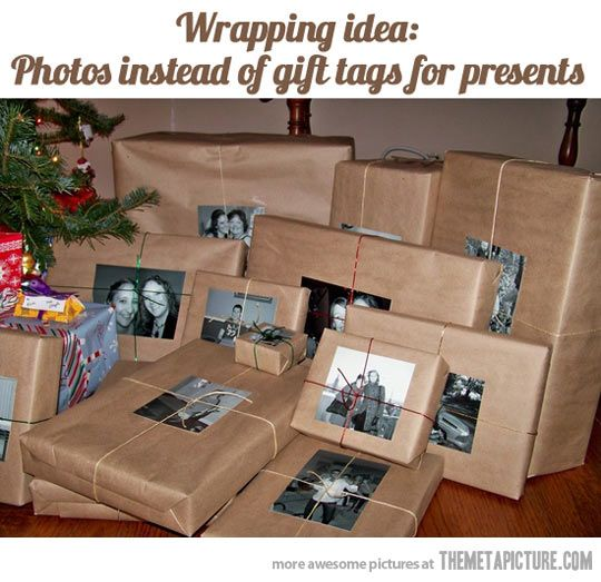 Wrapping idea…