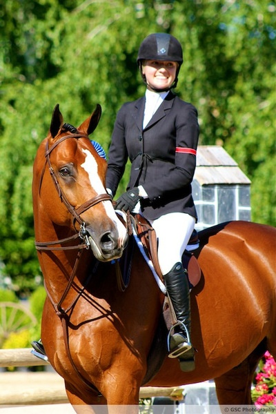 GORGEOUSNESS !    Lillie Keenan winning round #1 of Old Salem's 2012 Hunter Derby aboard Monterey.